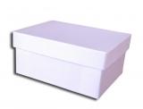 κουτί 25x19x9cm λευκό