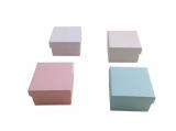κουτάκι 6.5x6.5x4cm μονόχρωμο