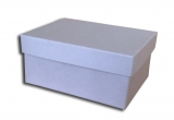 κουτί 25x19x9cm γκρι