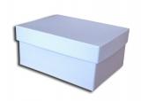 κουτί 36x28x12 cm σιέλ