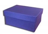 κουτί 36x28x12 cm μπλε navy